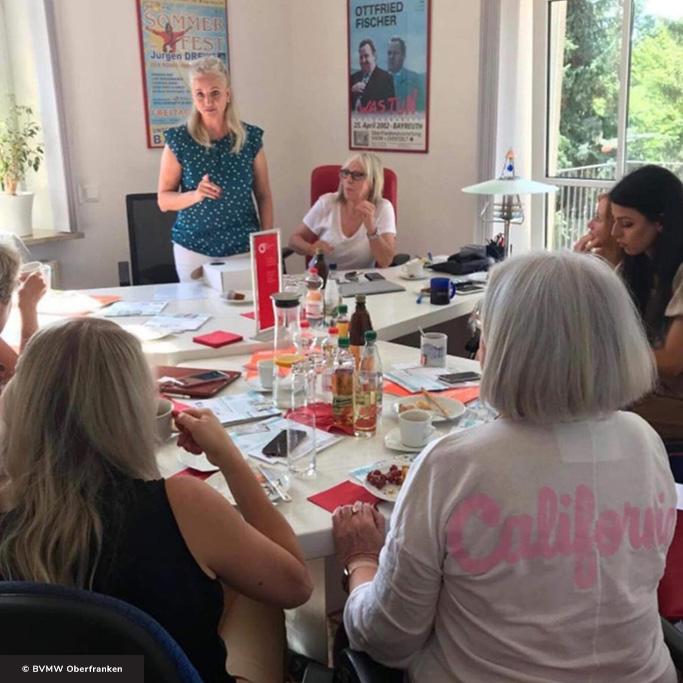 Bettina Angerer – Geschäftsstellenleitung BVMW Bayreuth